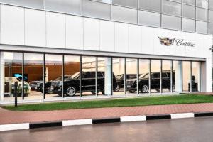 General Motors открывает новый салон в Москве