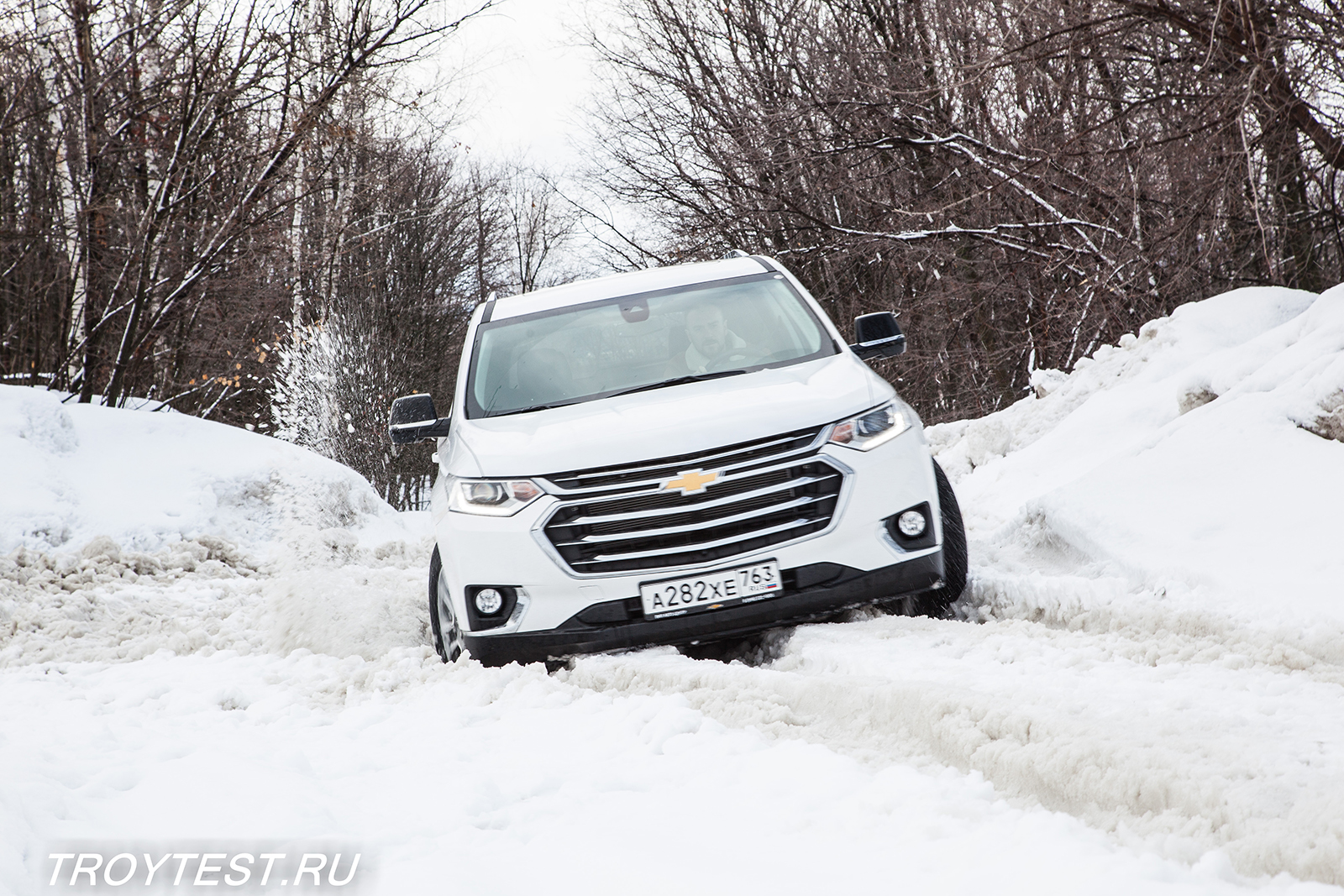 chevrolet, traverse, troytest, andrey troy, review, chevy, suv, crossover, usa